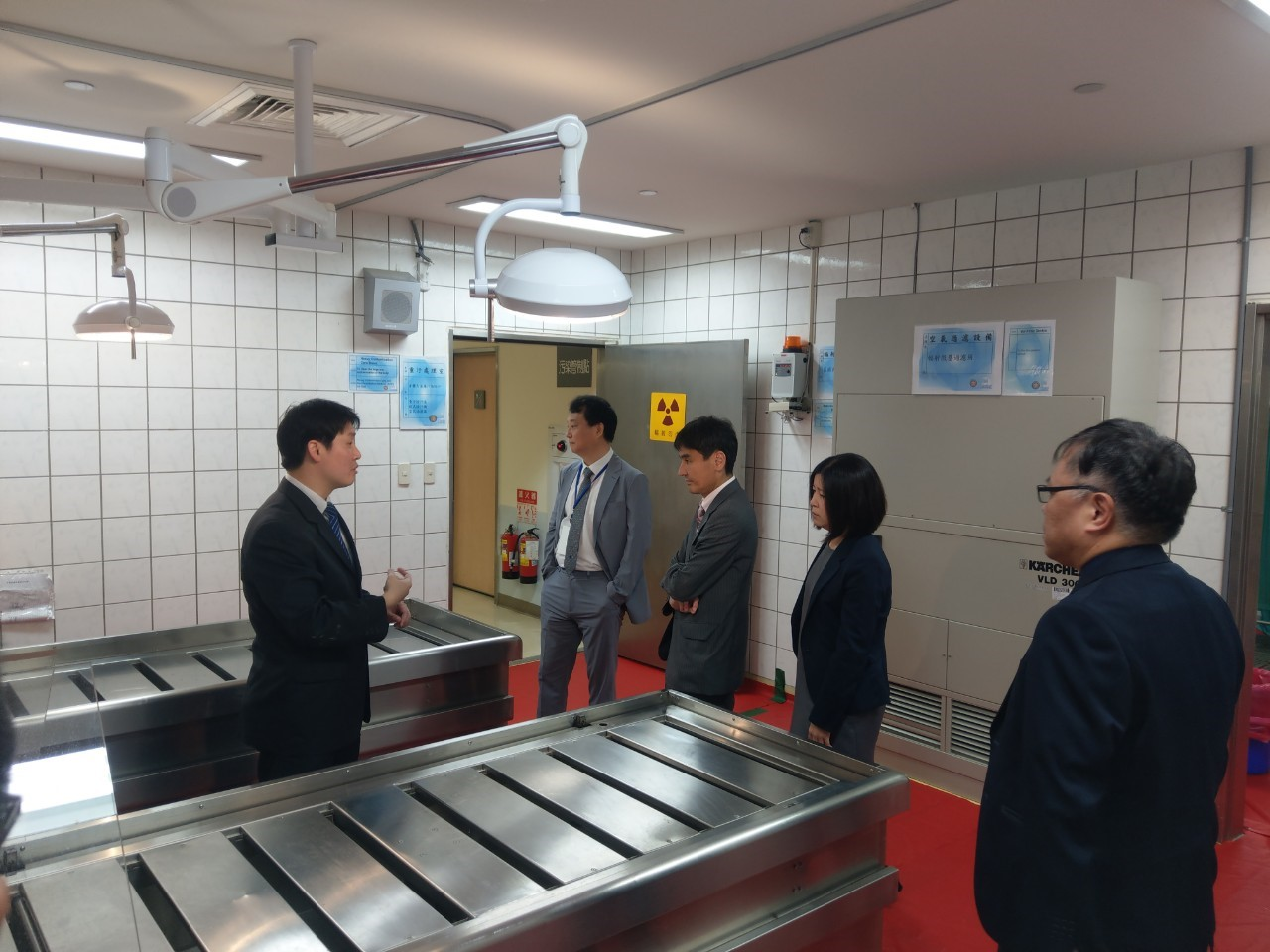 日韓學者輻傷參訪